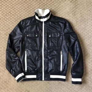 Guess Reversible Black/White Mens Jacket - size S